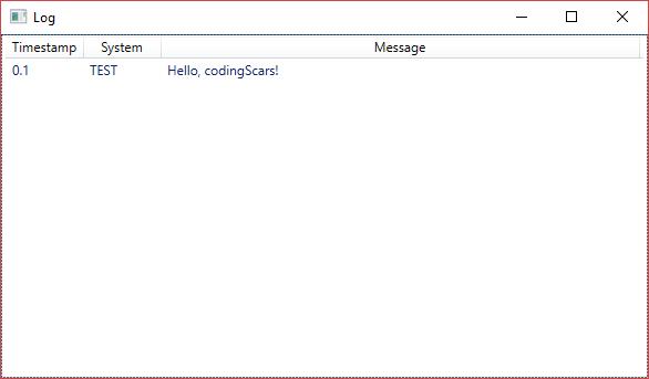 Hello, world! in WPF