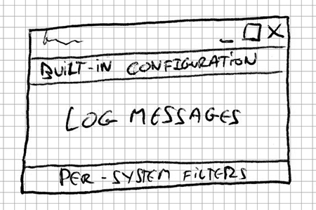 Doodle layout with per-system filters